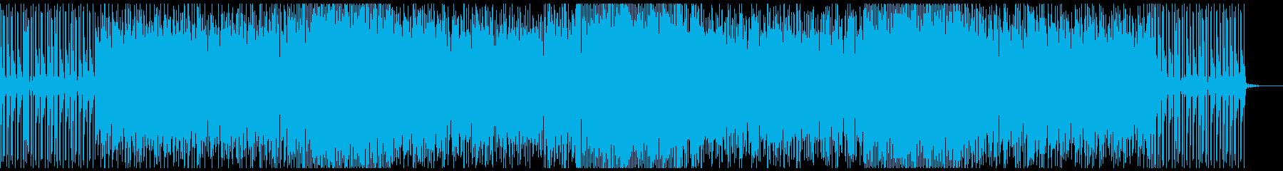 爽やかな旋律のシーケンスが心地良いです。の再生済みの波形
