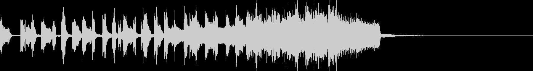 不協和音コミカルダークインパクトジングルの未再生の波形