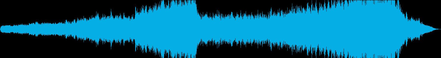現代的 交響曲 ドラマチック 弦楽器の再生済みの波形