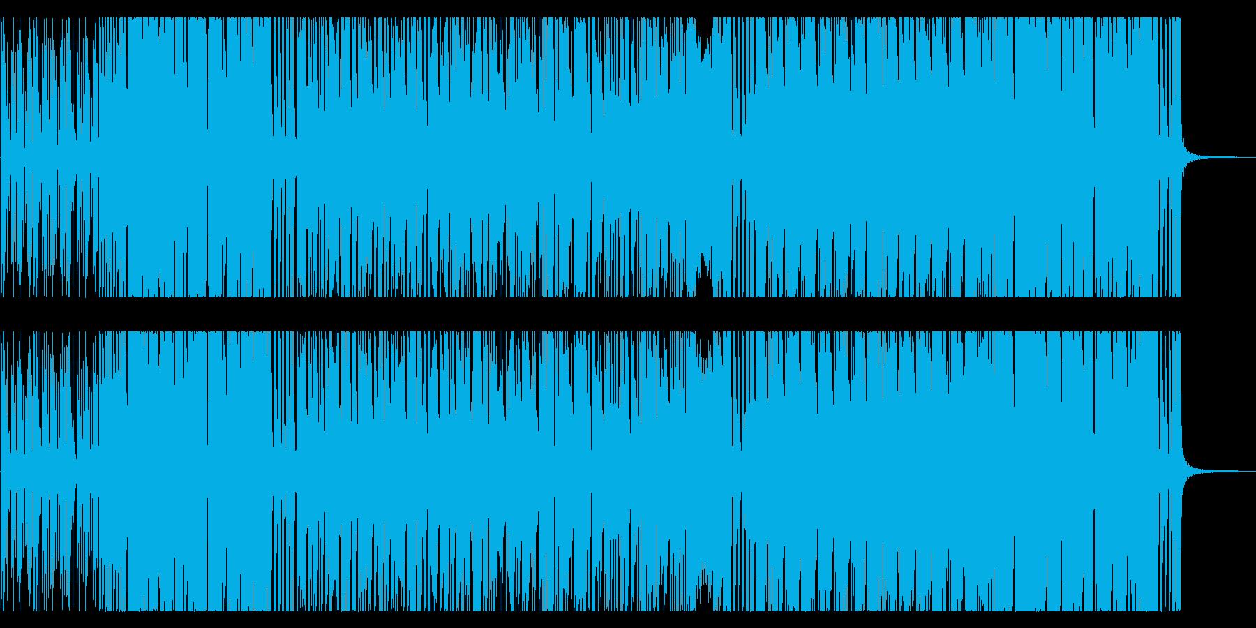 ホーンセクションが気持ちいいアフロビートの再生済みの波形