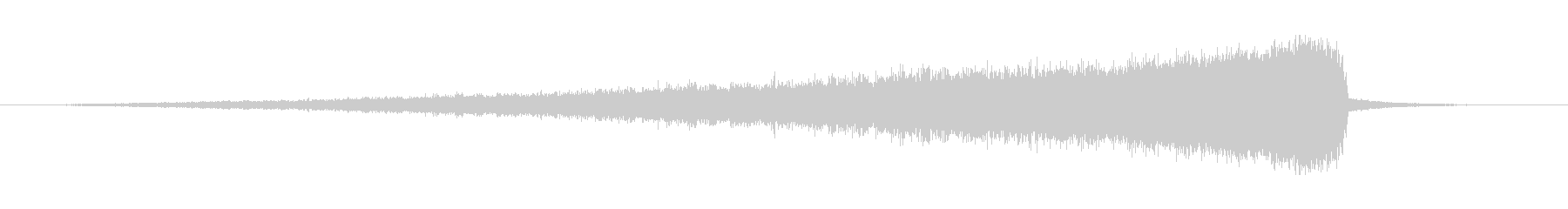 リバースシンバル003C(長い)の未再生の波形