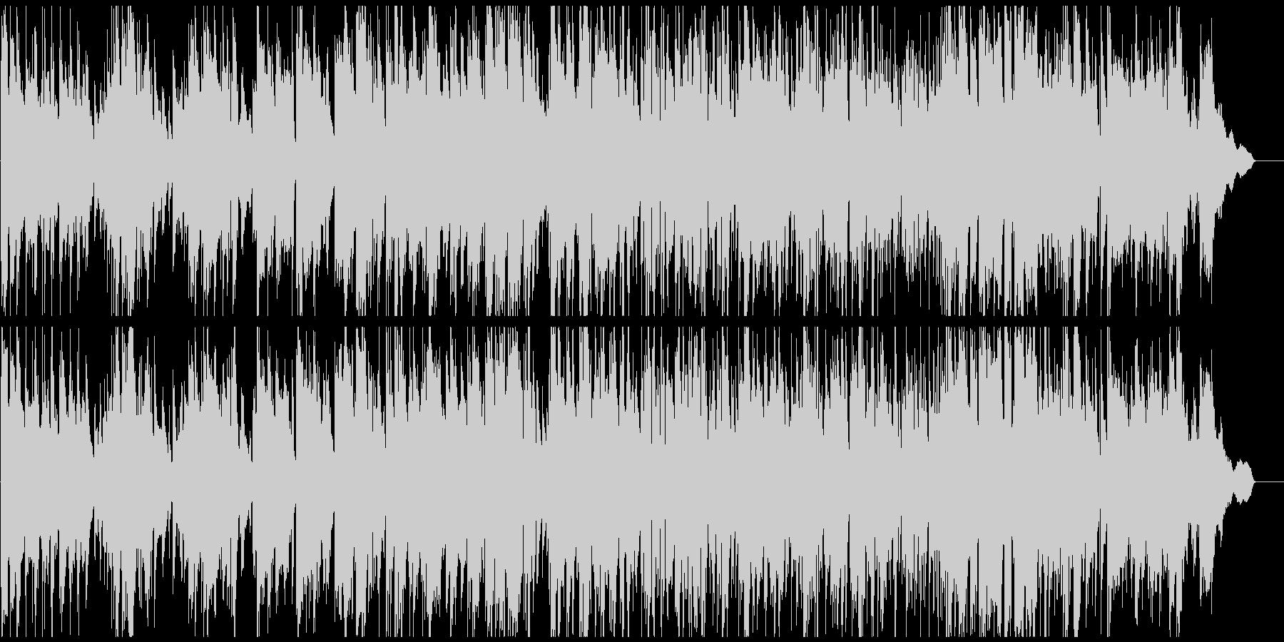 リラックス系まったりジャズ 甘いサックスの未再生の波形