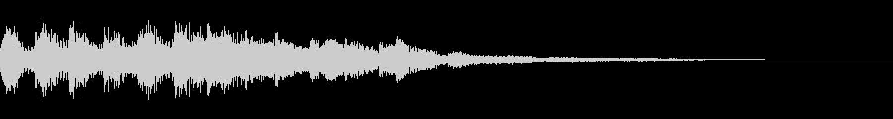 タイトル画面の音などの未再生の波形