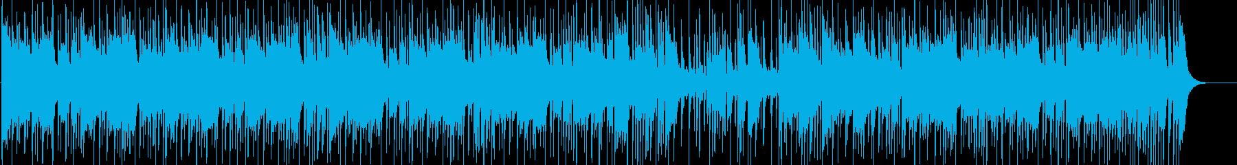 都会的で淡々としたおしゃれなソウル音楽の再生済みの波形