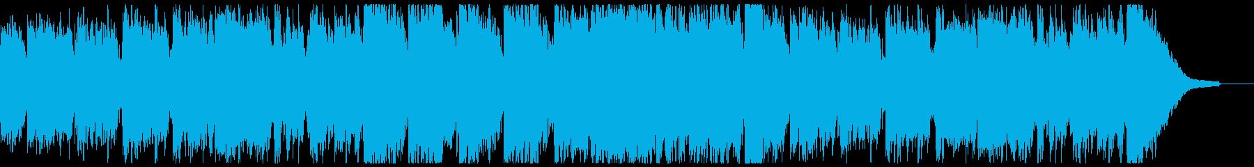 ムーディーな七夕・エンディング・ジャズの再生済みの波形