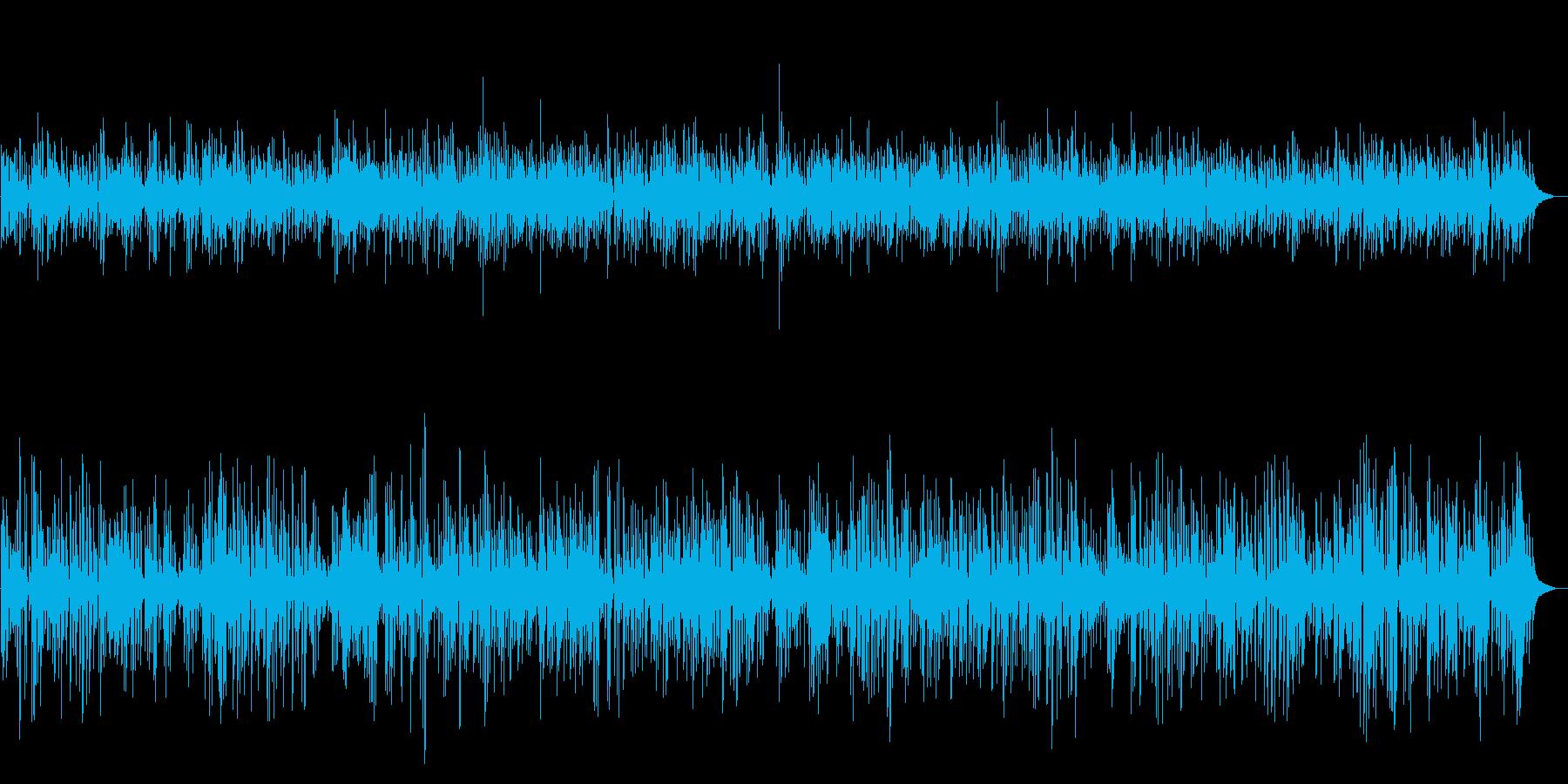 カフェジャズBGM 配信・映像・イベントの再生済みの波形