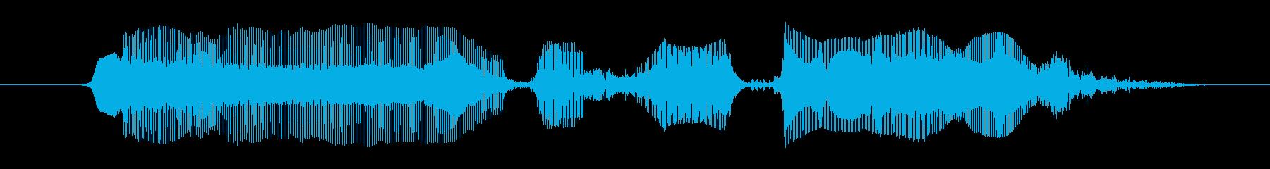 な~るほどぉ♪の再生済みの波形
