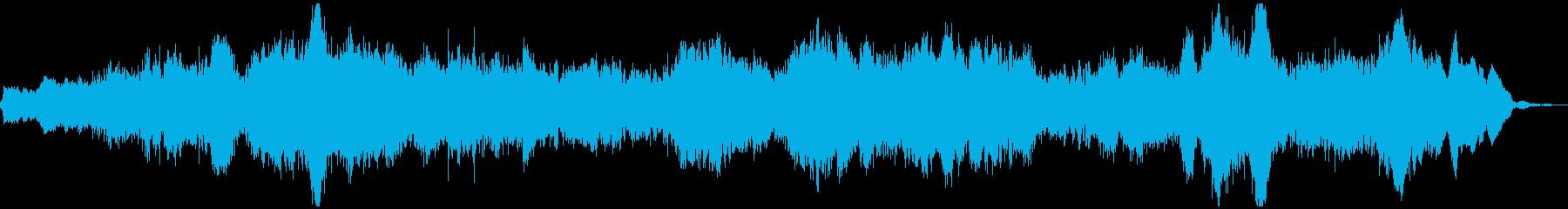 不安感を煽るシネマティックサウンドの再生済みの波形