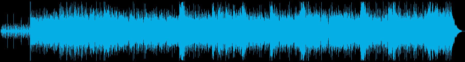 パーカッション・ドラム系を贅沢に使用♫の再生済みの波形
