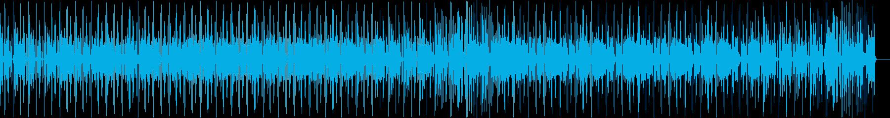 ファンキー・奇妙・ヒップホップの再生済みの波形