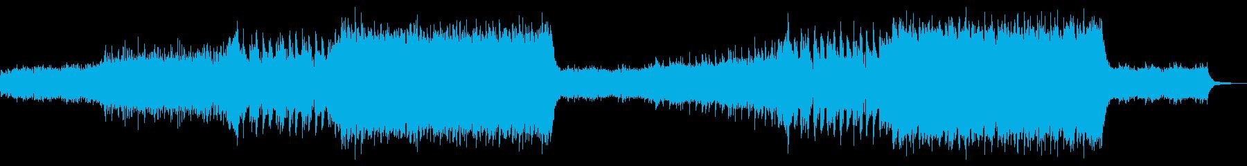 アドベンチャートレーラーの再生済みの波形