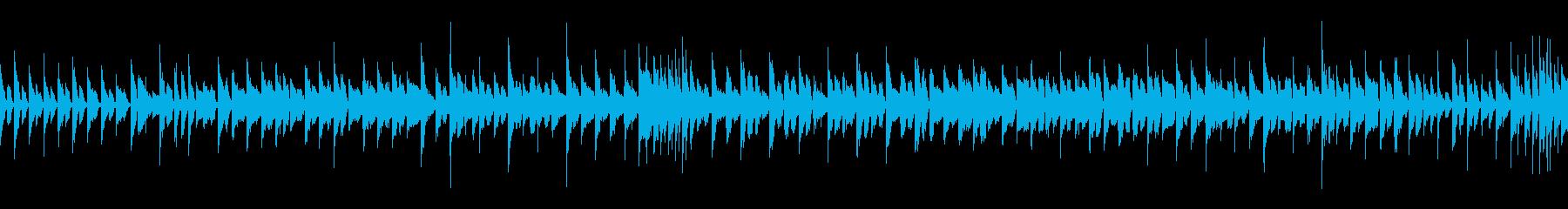 陽気なロックンロール(ループ仕様)の再生済みの波形