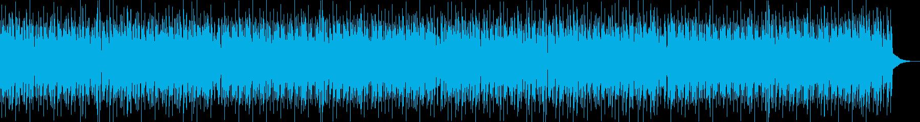 爽やか・EDM・エンディング・スポーツの再生済みの波形