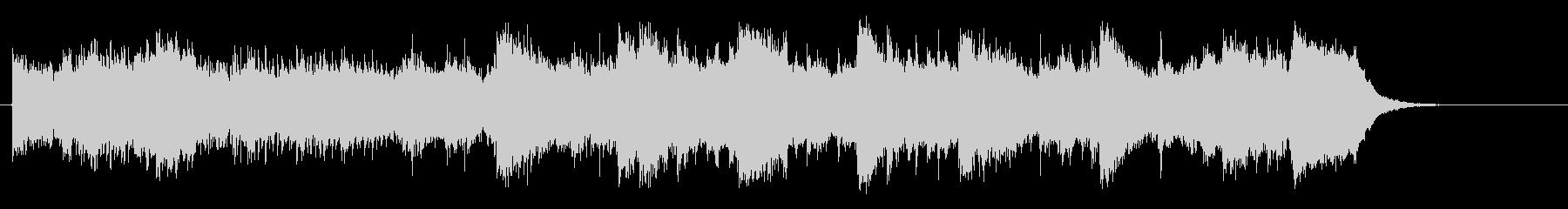 オリエンタルなシルクロード紀行風BGMの未再生の波形