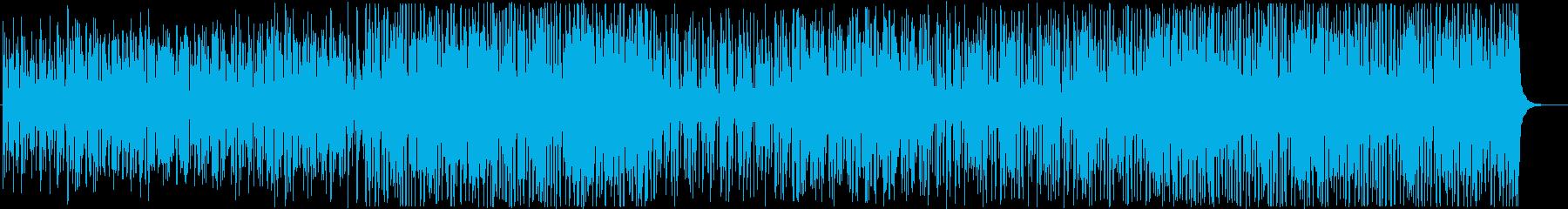 ハッピーでポジティブなウクレレポップ♪の再生済みの波形