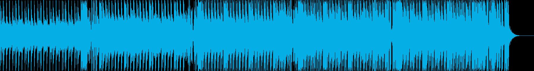 重低音なクラブ系EDMダンスミュージックの再生済みの波形
