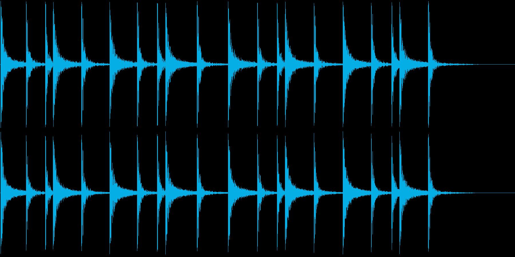 LOW TOM:VAMPY RHY...の再生済みの波形