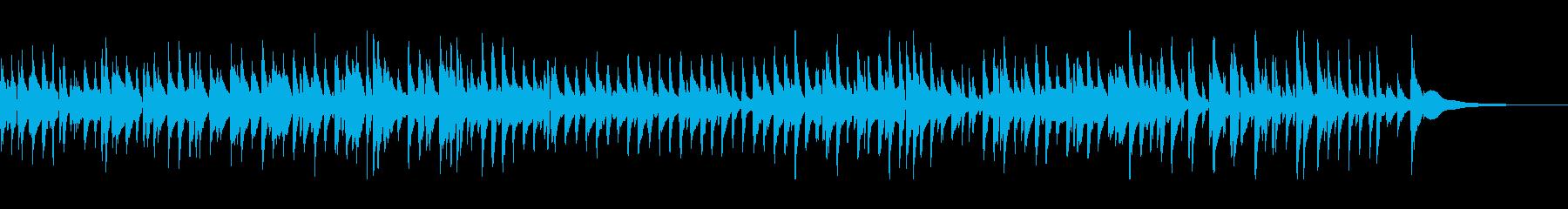ムーディーなジャズバラードの再生済みの波形