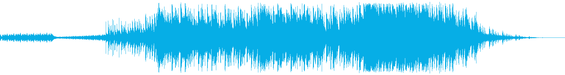 高揚感溢れる爽やか系ピアノテクノの再生済みの波形