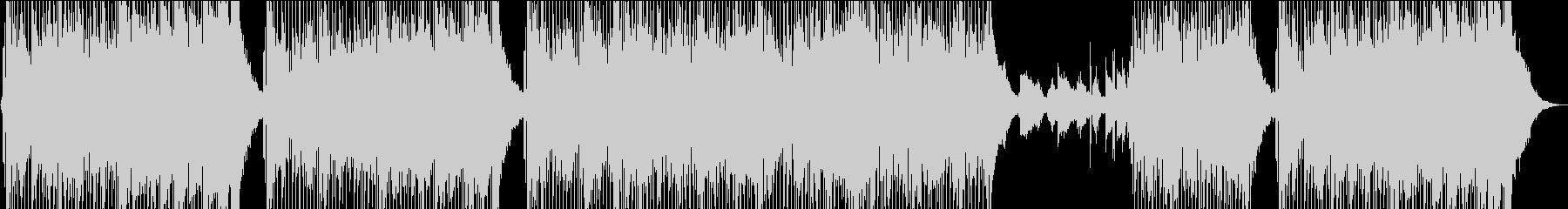 フユーゲルホーンが切ないスムースジャズの未再生の波形