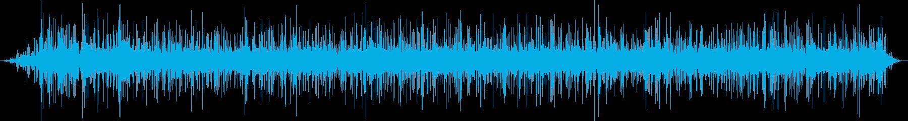 グツグツ(マグマが煮えたぎる)の再生済みの波形