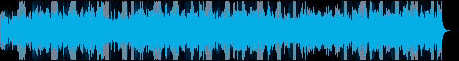 さわやか・クールなギター&ピアノ曲の再生済みの波形