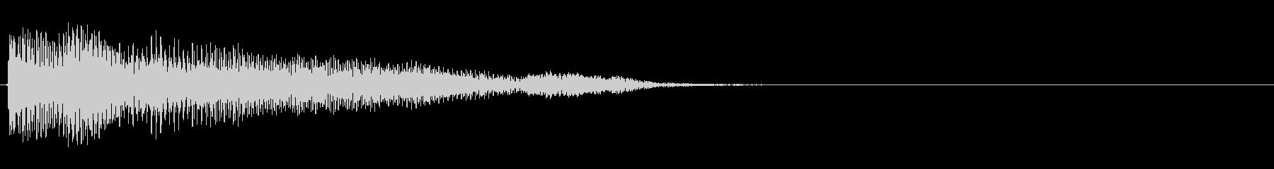 強化されたプラクテッドシンセアクセント4の未再生の波形