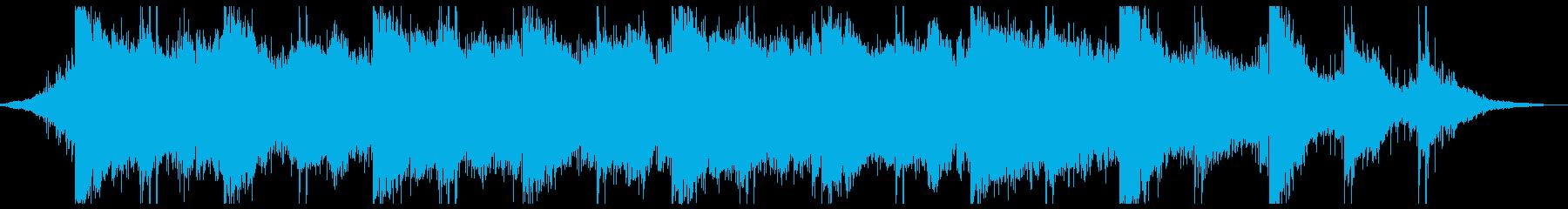 EBOWギターのスローテクノの再生済みの波形