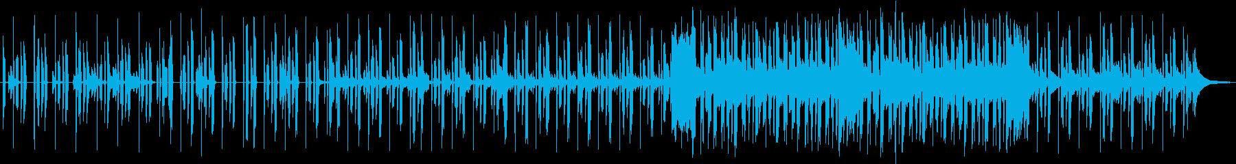 しっとりとしたRandB風の楽曲です。の再生済みの波形