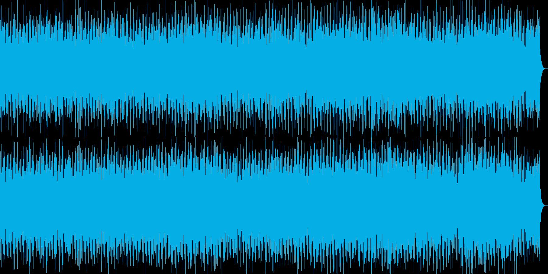 ピアノが印象的な哀愁EDMの再生済みの波形