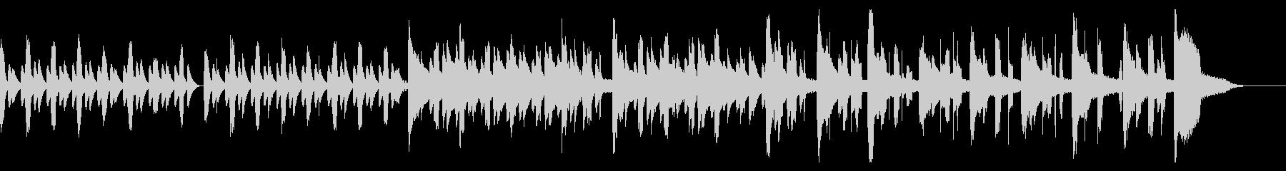 ピタゴラスイッチ風のほのぼのリコーダー曲の未再生の波形