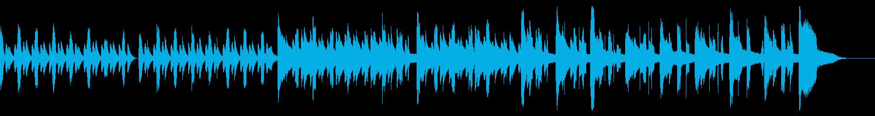 ピタゴラスイッチ風のほのぼのリコーダー曲の再生済みの波形