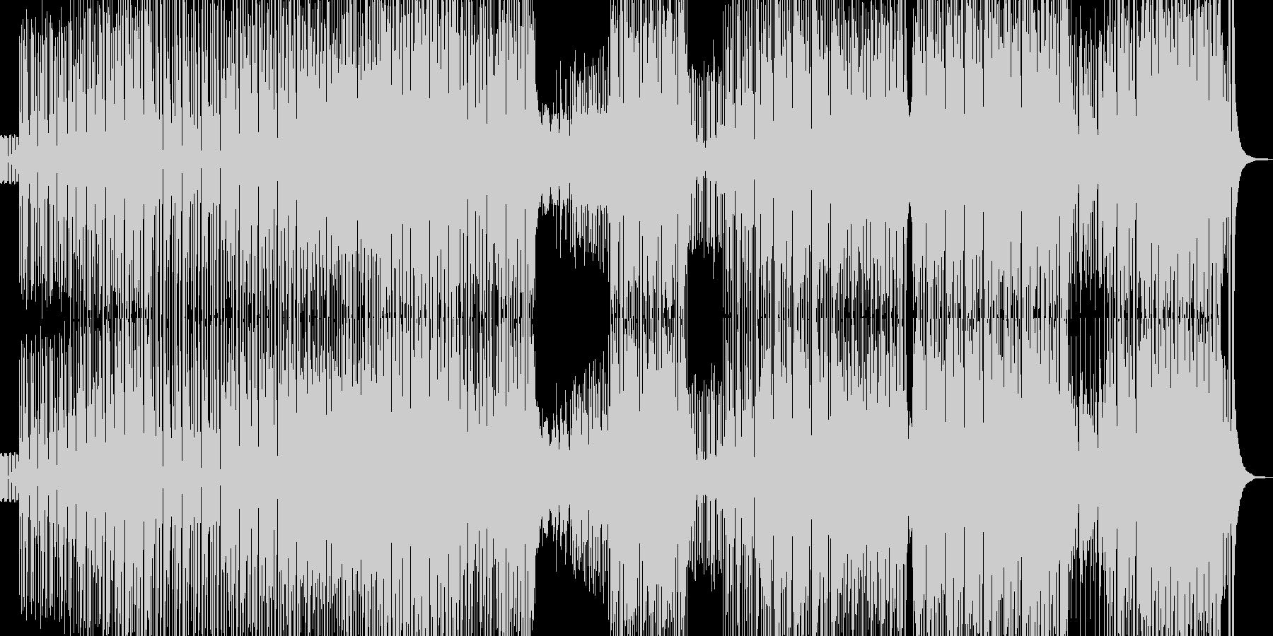 カラフルでユメカワなピコピコポップス Aの未再生の波形
