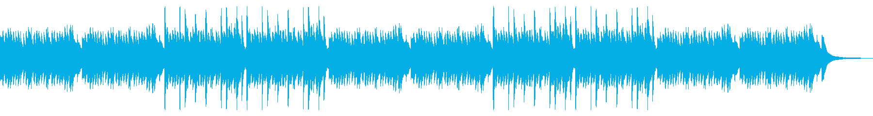 星の夜 ピアノソロ 感動 水面 切ないの再生済みの波形