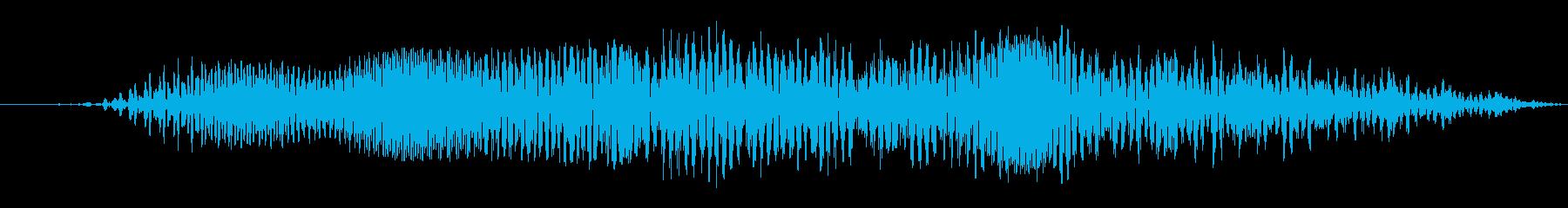 大クリーチャー:短いゴトラル・グロウルの再生済みの波形
