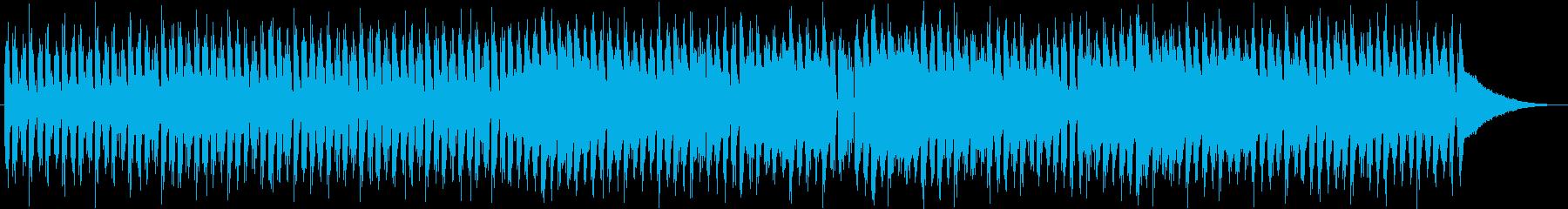 【都会的】金管楽器が華やかな4つ打ち楽曲の再生済みの波形