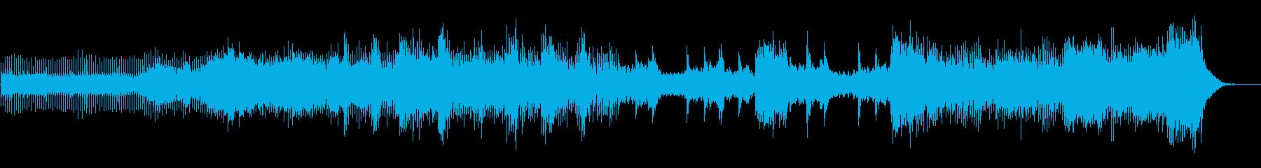 ピアノ、さまざまなシンセサイザー、...の再生済みの波形