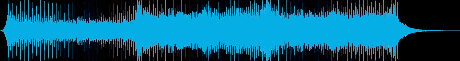企業VP系35、爽やかギター4つ打ちbの再生済みの波形