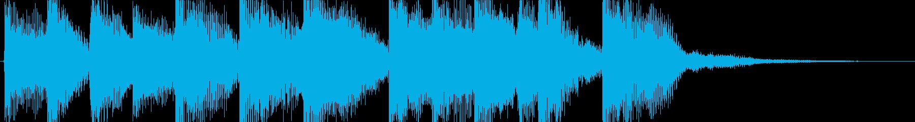 ピアノとエレピの美しい旋律 重くないの再生済みの波形