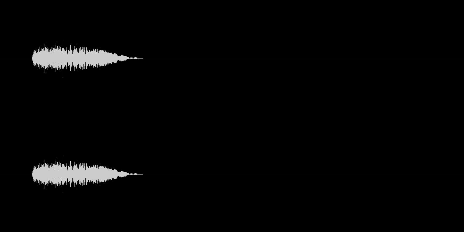 【ポップモーション43-1】の未再生の波形