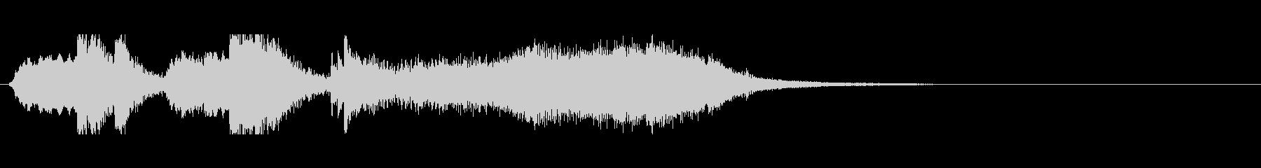 オーケストラ系ジングル01の未再生の波形