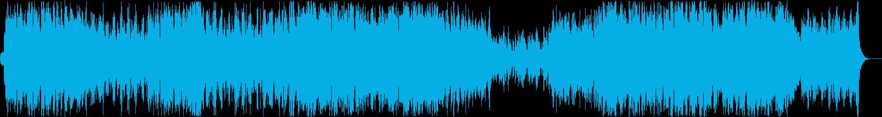 幻想的なポップスの再生済みの波形