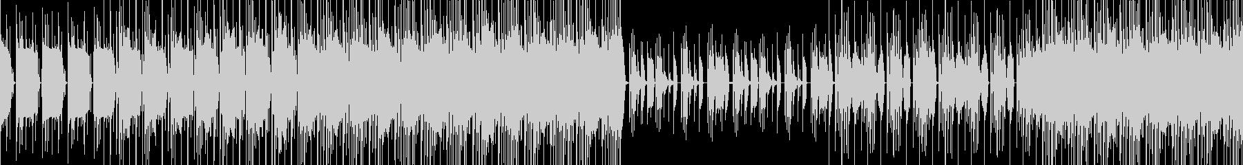 【ループ対応】少しダークなビートBGMの未再生の波形