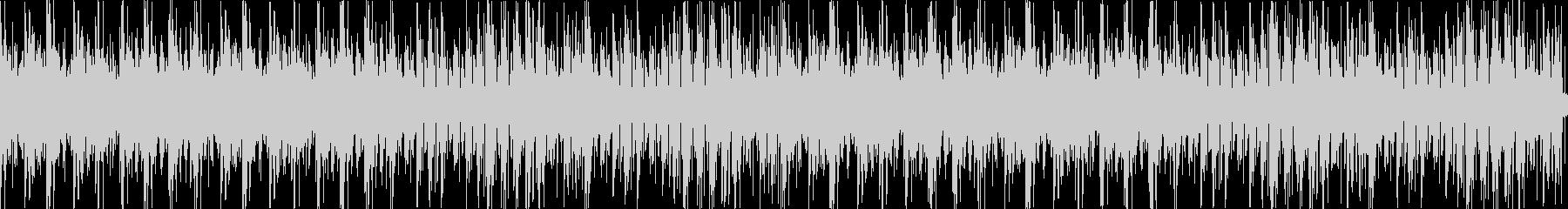 まったりとしたエレクトロ風味のボサノバの未再生の波形