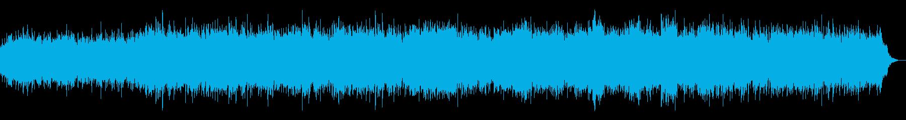 アコギとピアノとストリングスの童謡、里山の再生済みの波形