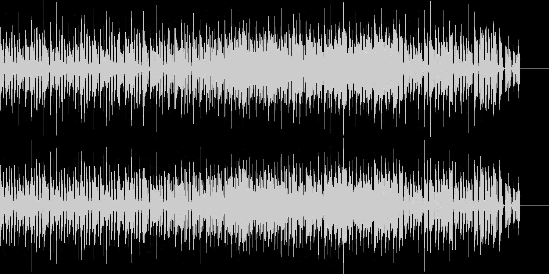 アコギ主体のポップで楽しい曲の未再生の波形
