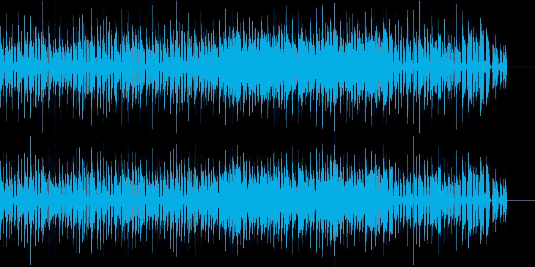 アコギ主体のポップで楽しい曲の再生済みの波形