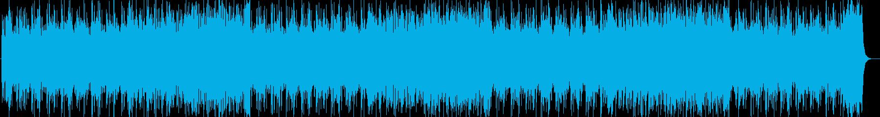 RPGのようなオーケストラ風サウンドの再生済みの波形