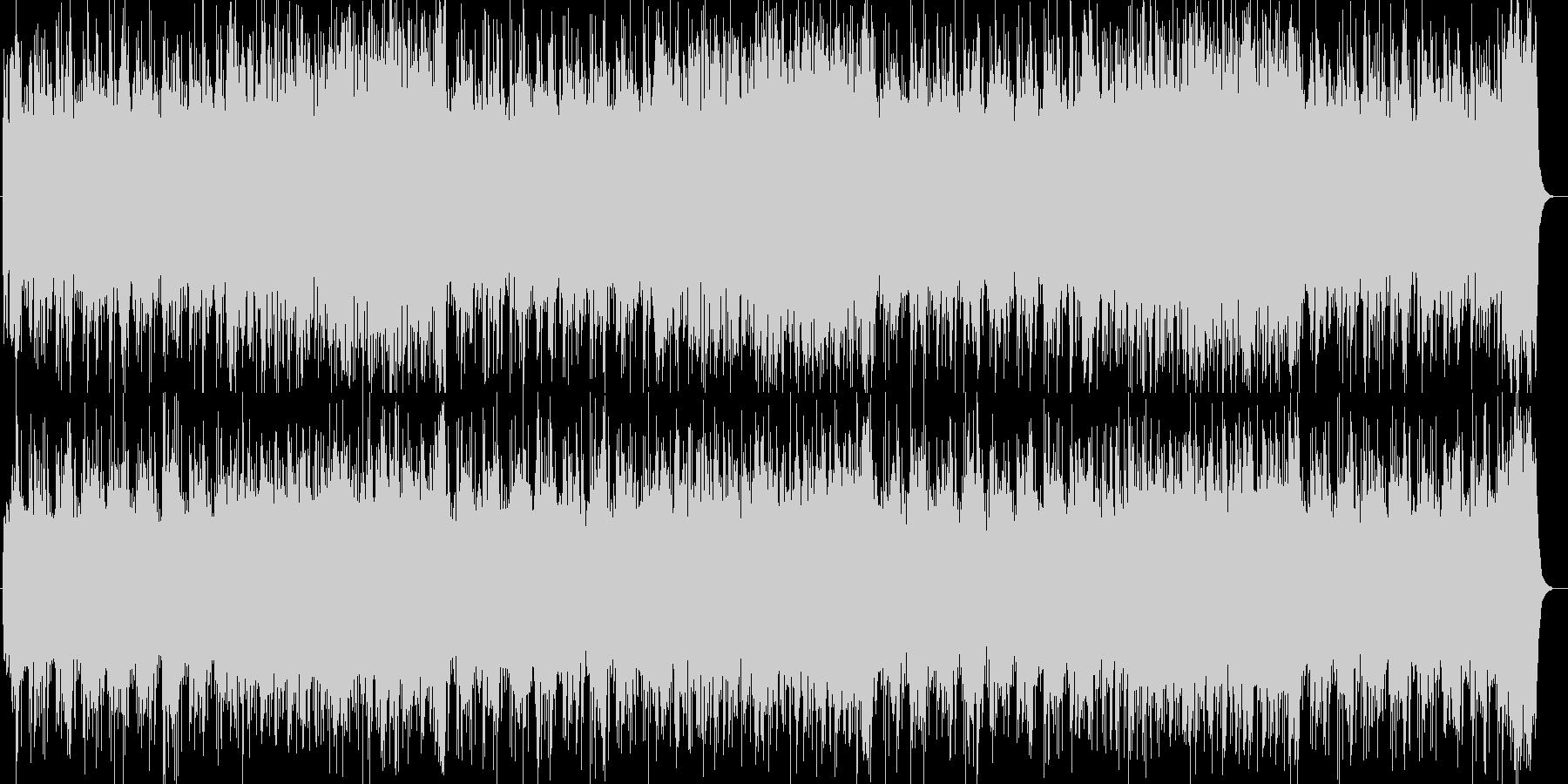RPGのようなオーケストラ風サウンドの未再生の波形