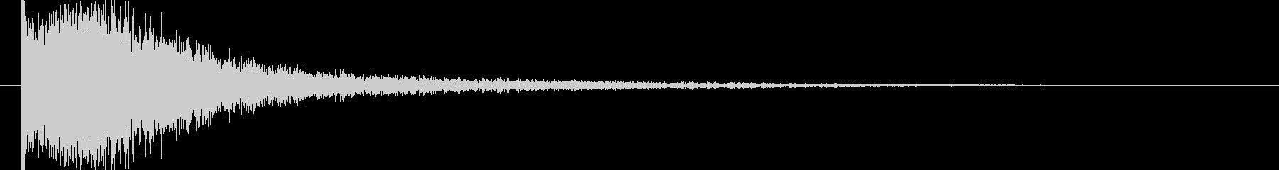 映画告知音42 ドーンの未再生の波形